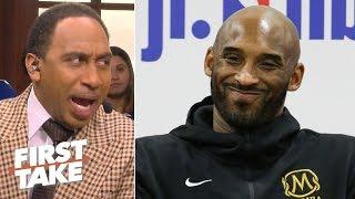 Stephen A. says Kobe denies attending Lakers' practices, refuting Lance Stephenson   First Take