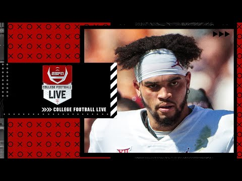 Should Caleb Williams start for Oklahoma?   College Football Live