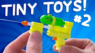 12 of the World's Smallest Toys that Actually Work!
