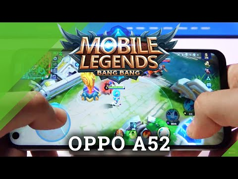 Mobile Legends on OPPO A52 – Gameplay