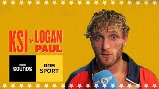'I don't feel I lost' Logan Paul emotional locker room interview | BBC Sport