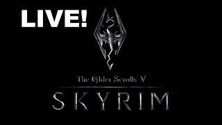 The Elder Scrolls V: Skyrim LIVE! | Whispering Fang Challenge!