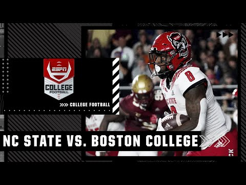 NC State Wolfpack at Boston College Eagles | Full Game Highlights