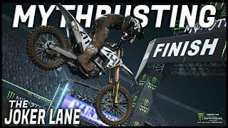 MYTHBUSTING #1 - the JOKER LANE... (Monster Energy Supercross: The Official game)