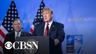 Report: Trump discussed pulling out of NATO