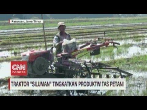"Traktor ""Siluman"" Tingkatkan Produktivitas Petani"
