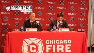 Veljko Paunovic llega a rescatar al Chicago Fire