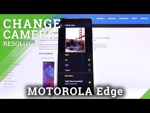 How to Adjust Photo Resolution in Motorola Edge – Change Photo Size