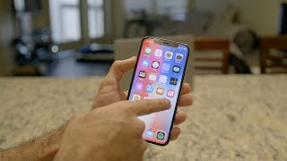 Living with iPhone X