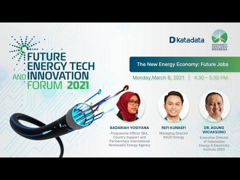The New Energy Economy: Future Jobs