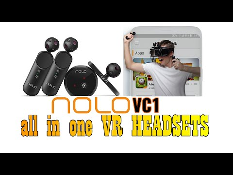 NOLO CV1 3D VR GAME HEADSET STATION CONTROLLER KIT FOR MOBILE AND PC