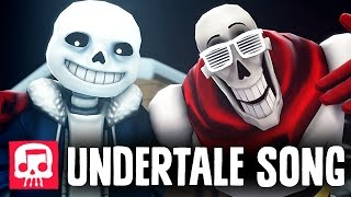 Sans and Papyrus Song - An Undertale Rap by JT Music ″To The Bone″ [SFM]