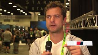 Speaking with Josh Jackson at SIGGRAPH 2018