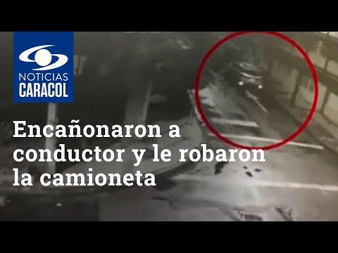 Encañonaron a conductor y le robaron la camioneta mientras entraba a su casa