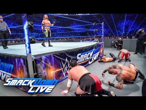 HINDI - Styles vs. Mysterio vs. Ali vs. Orton vs. Joe: SmackDown LIVE, 1 January, 2019
