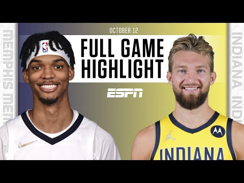 Memphis Grizzlies at Indiana Pacers   Full Game Highlights