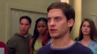 Peter Parker vs Flash School Fight Scene Spider Man 2002 Movie CLIP HD