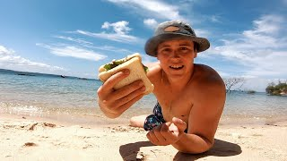 EP 4 - DEEP SEA SPEARFISHING - Mahi Mahi Sandwiches (KING TIDE) | Catch n Fry