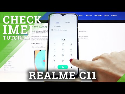 How to How to Check IMEI and Serial Number in REALME C11 - IMEI & Serial Number