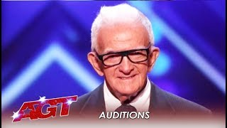 84-Year-Old SHOCKS America With Age-Defying Act! WHAT?! | America's Got Talent 2019