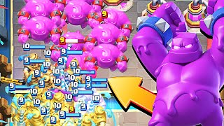 ELIXIR GOLEM is INSANE in CLASH ROYALE