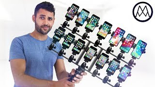 The Ultimate iPhone Comparison.