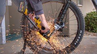 What's inside Worlds TOUGHEST Bike Lock?