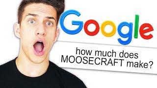 GOOGLING MYSELF CHALLENGE! (MOOSECRAFT)