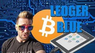 Ledger Blue - Best Hardware Wallet Yet?