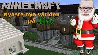 Minecraft på 90gQ / Nyaste nya världen | Tisdagsmys [LIVESTREAM 2016-12-27]