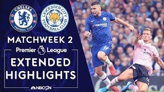 Chelsea v. Leicester City | PREMIER LEAGUE HIGHLIGHTS | 8/18/19 | NBC Sports