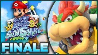 Super Mario Sunshine 100% Walkthrough FINALE | FINAL BOSS BOWSER! [Episode 11 🔴LIVE]