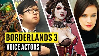 Borderlands 3 | The Voice Actors Behind The Characters
