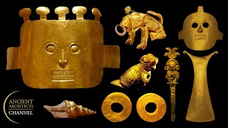 $10 Million of Ancient Gold Discovered and Looted: The Malagana Treasure   Ancient Architects
