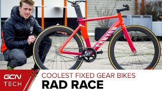 The Coolest Custom Fixed Gear Bikes From The Rad Race
