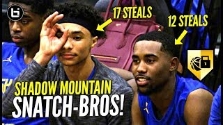 They Make DEFENSE EXCITING! Team Couldn't Get PAST HALFCOURT! Jaelen House 17 Steal Triple Double!