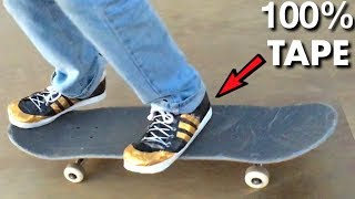 Skating in FLEX TAPE Shoes!