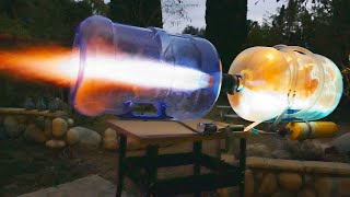 GIANT DIY Propane Plasma Cannon!