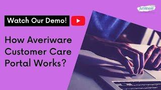 Averiware - Order Entry - Customer Portal