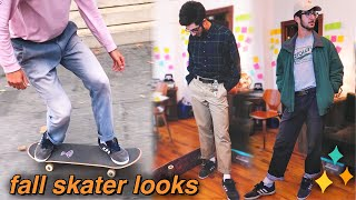 5 skater outfits for fall! 👕🍂 (+ nyc skateboarding!)