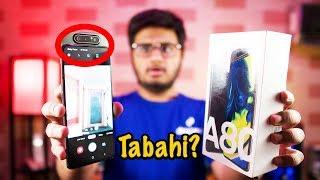 Samsung Galaxy A80 Unboxing   Tabahi Hai Wallet Ki?