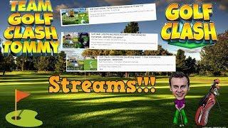 Golf Clash LIVESTREAM, Highroller Grind - TOUR 11! SUMMER MAJOR!!