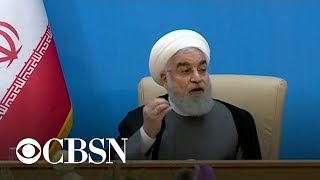 Iran says new sanctions permanently ″end″ chance for diplomacy