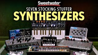 Seven GREAT Stocking Stuffer Synthesizers 🎹 by Daniel Fisher