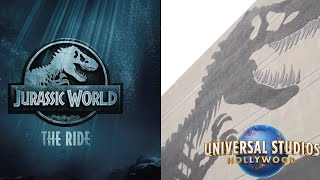 New ″Jurassic World - The Ride″ Details at Universal Studios Hollywood! | Construction Update
