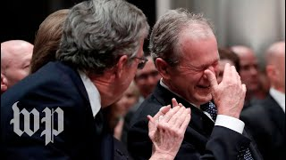 10 times George H.W. Bush's humor brought laughter to his loved ones in mourning