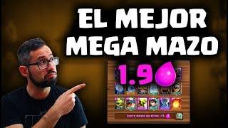 EL MEJOR MEGA MAZO, 1.9 DE ELIXIR, ¡FÁCIL Y SENCILLO! | Malcaide Clash Royale