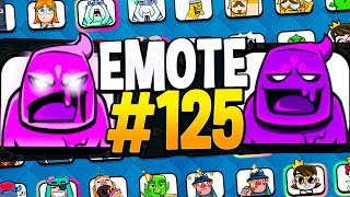 My 125th EMOTE in CLASH ROYALE!! How many do you have?!