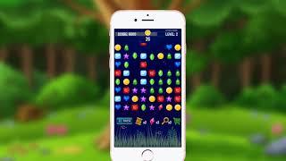 Gemstones Crush Match 3 Puzzle Game
