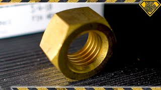We Turned a HEX NUT into a Ring